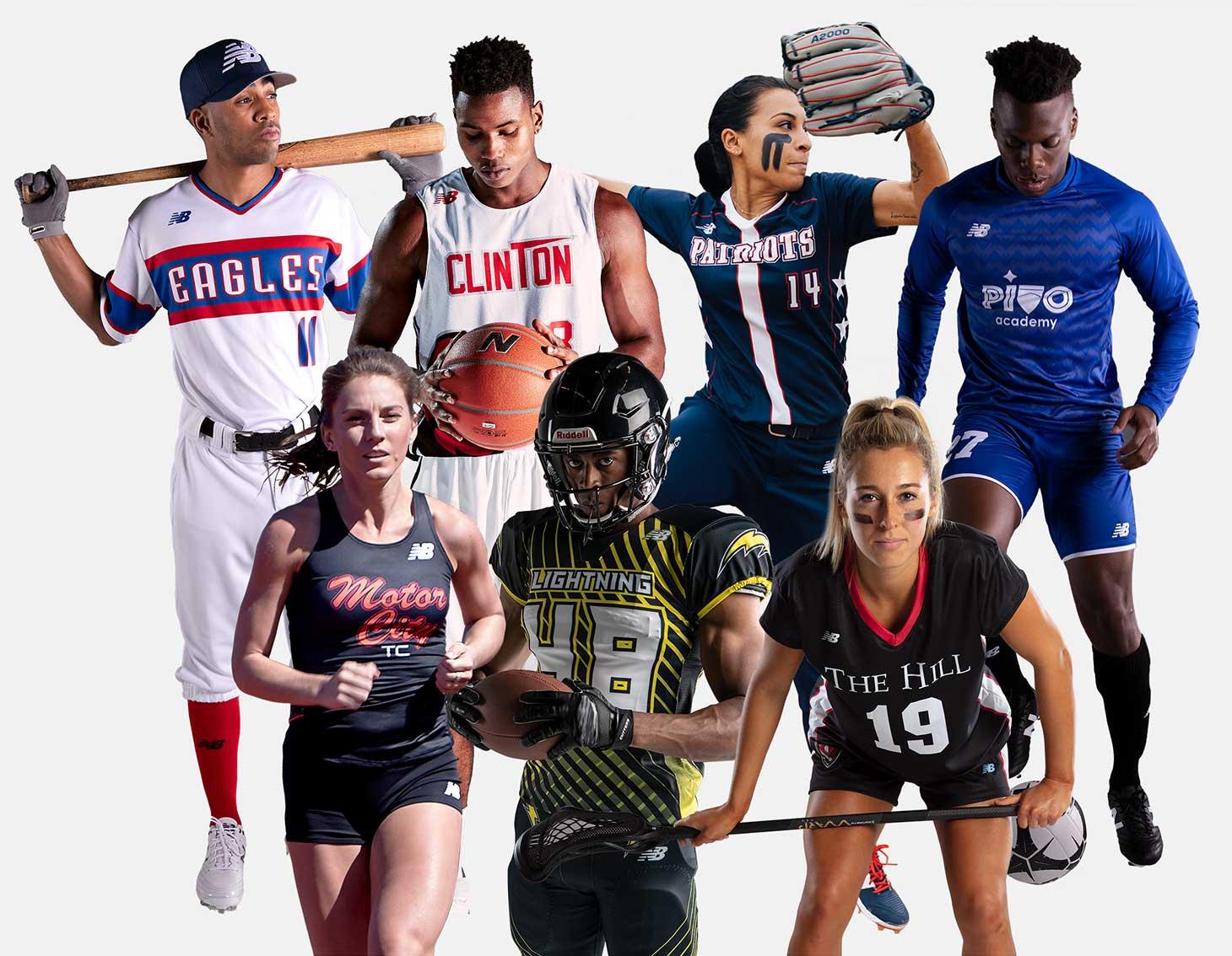team sports - new balance
